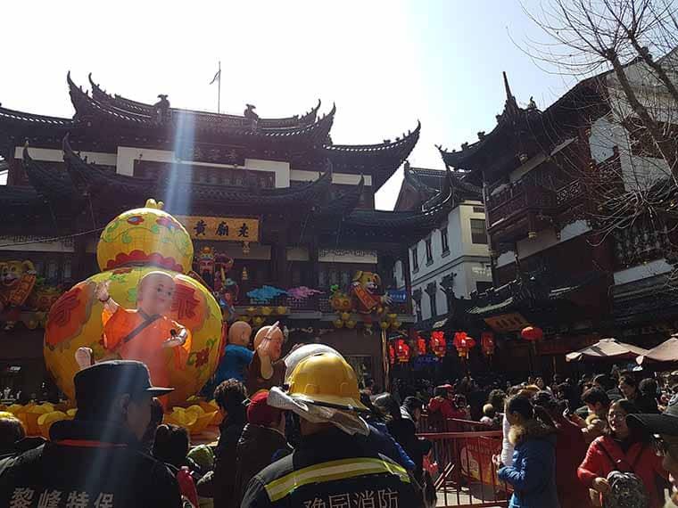 cidade velha de xangai