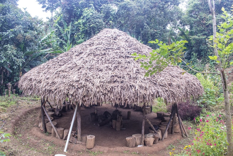 Tulpa, local de reunião do povo Nasa, na Colômbia