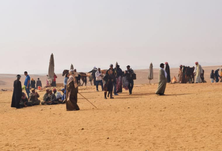 turismo no egito deserto