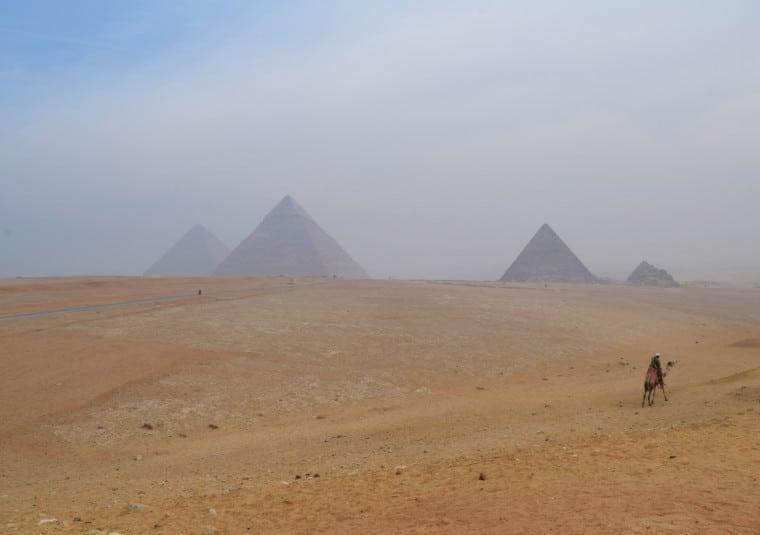 turismo no egito piramides