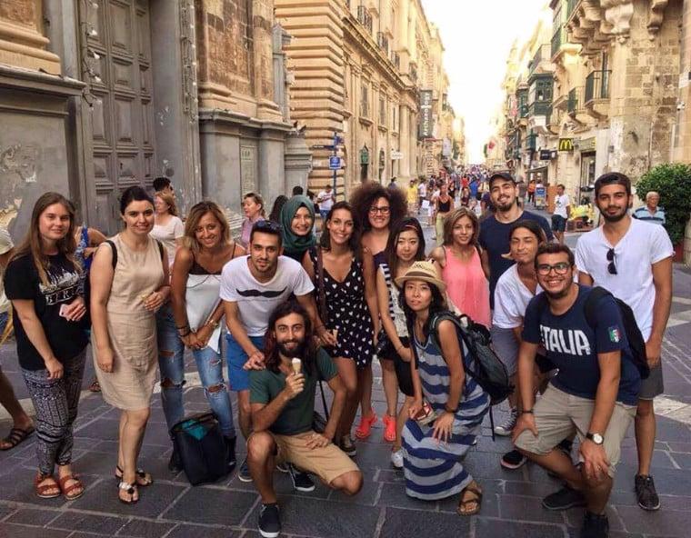 Escola de ingles em malta intercambio