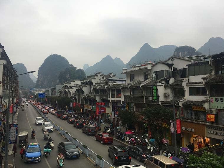 Yangshuo na china
