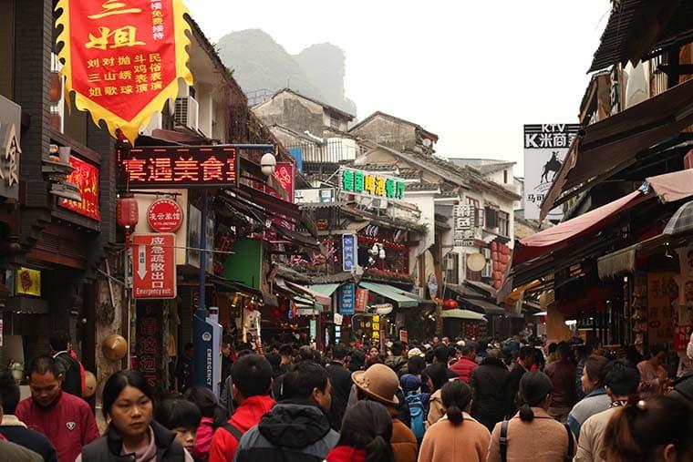 Yangshuo, China, viagem