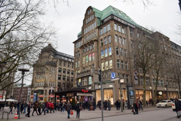 hamburgo alemanha centro comida de rua