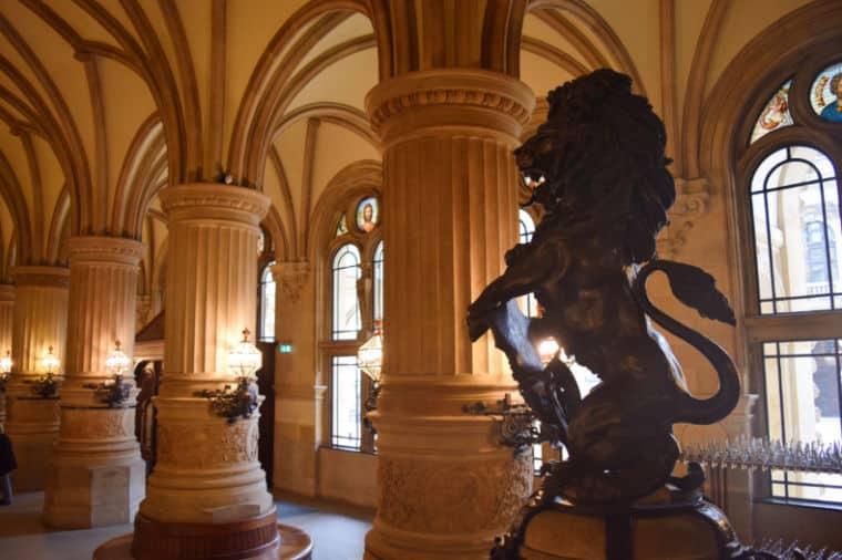 hamburgo alemanha dentro da prefeitura