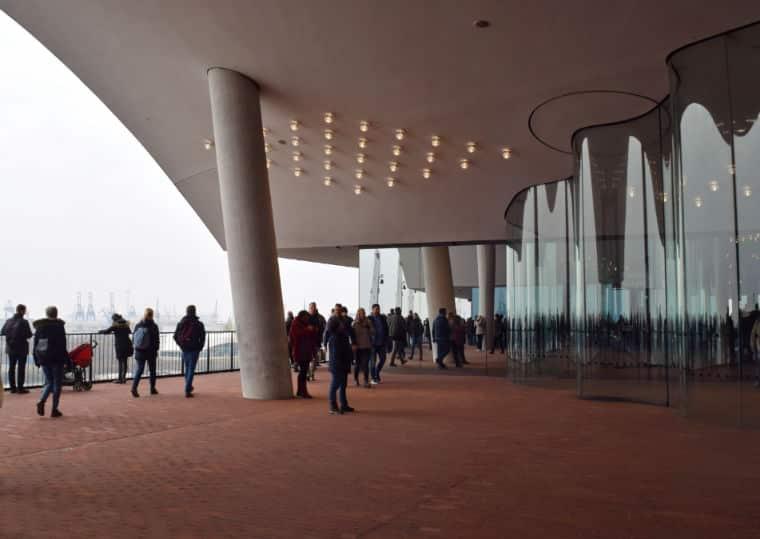 hamburgo alemanha elbphilharmonie plaza