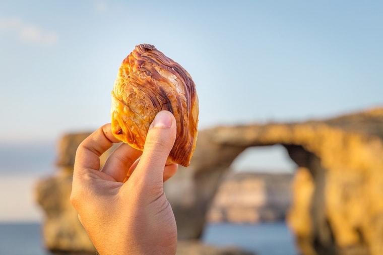 Pastizzi: comida típica de malta