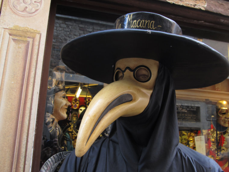 peste negra mascara veneza