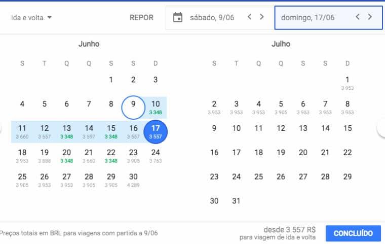 voos google flights passagens 1