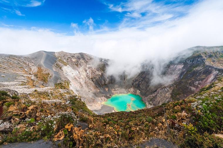 Vulcão Irazu, na Costa Rica
