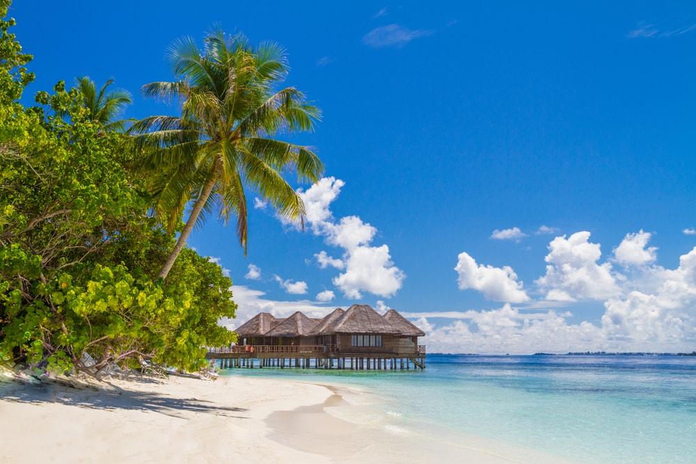 Praia em Bocas del Toro, Panamá