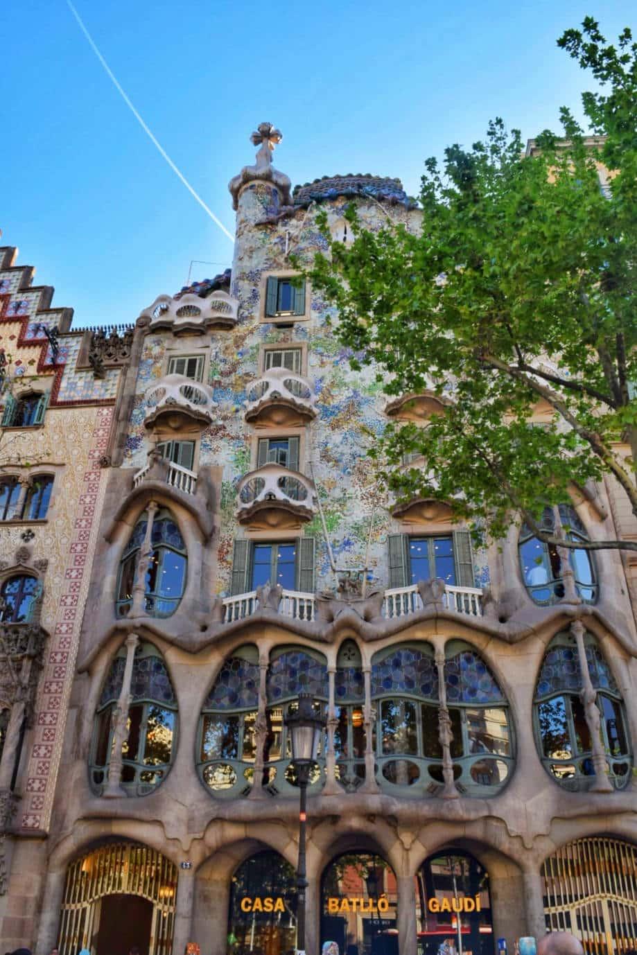 gaudi casa batllo barcelona