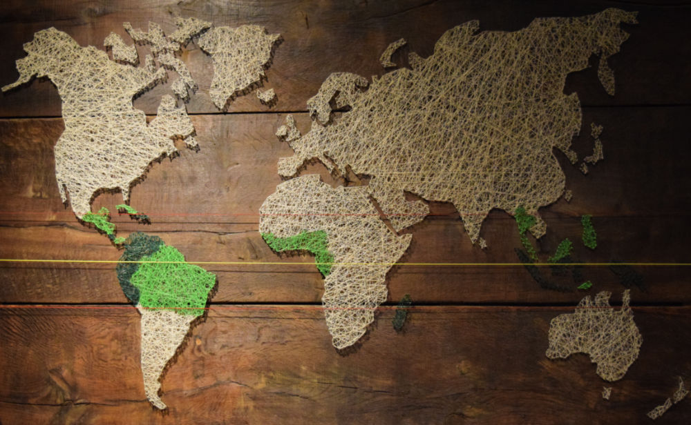 mapa producao cacau mundo