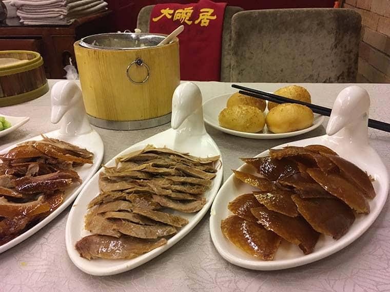 pratos típicos da culinária chinesa