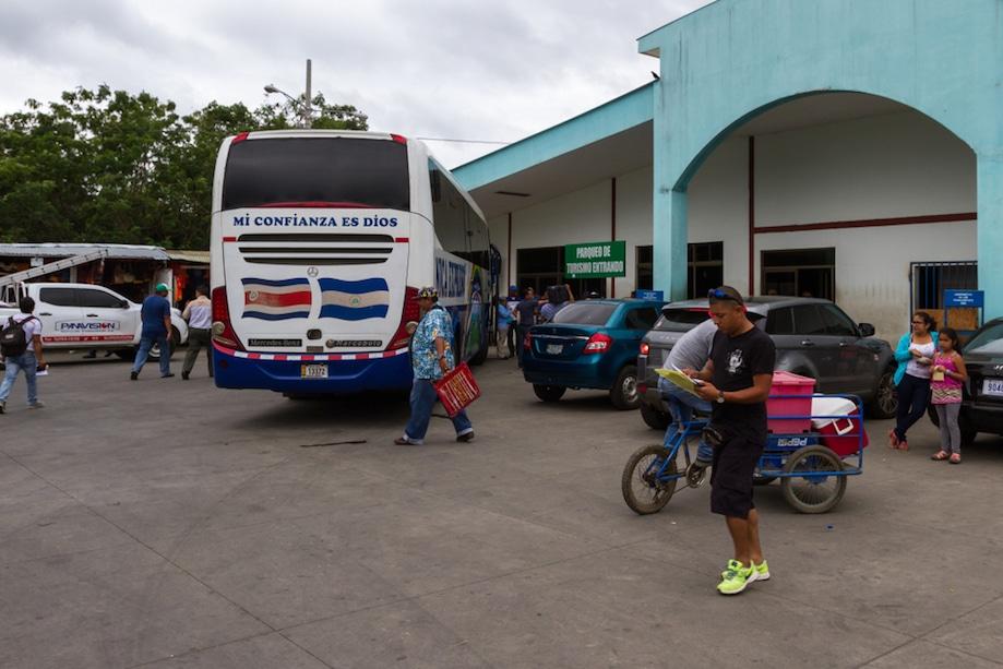 Peñas Blancas, na Nicarágua: fronteira terrestre com a Costa Rica