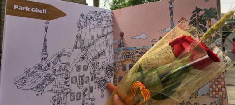 O dia Sant Jordi em Barcelona e a lenda de São Jorge