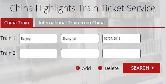 viagem de trem na China