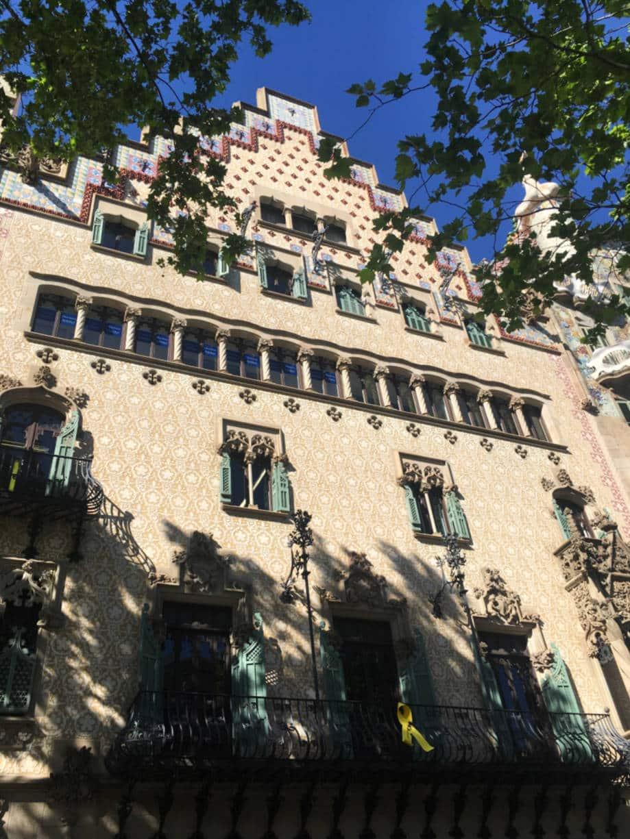 casas modernistas barcelona casa amatller