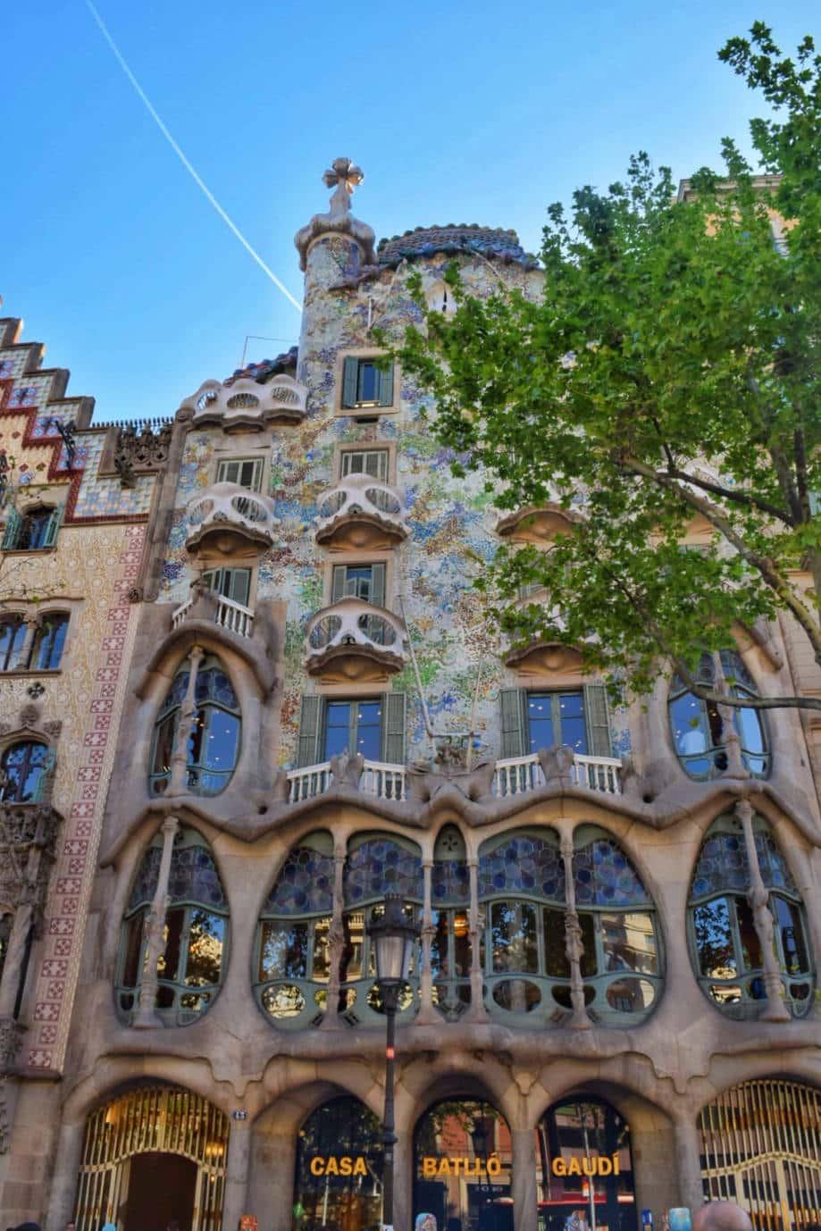 casas modernistas barcelona casa batllo gaudi