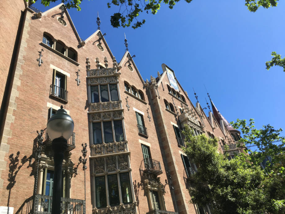 casas modernistas barcelona casa das pontas