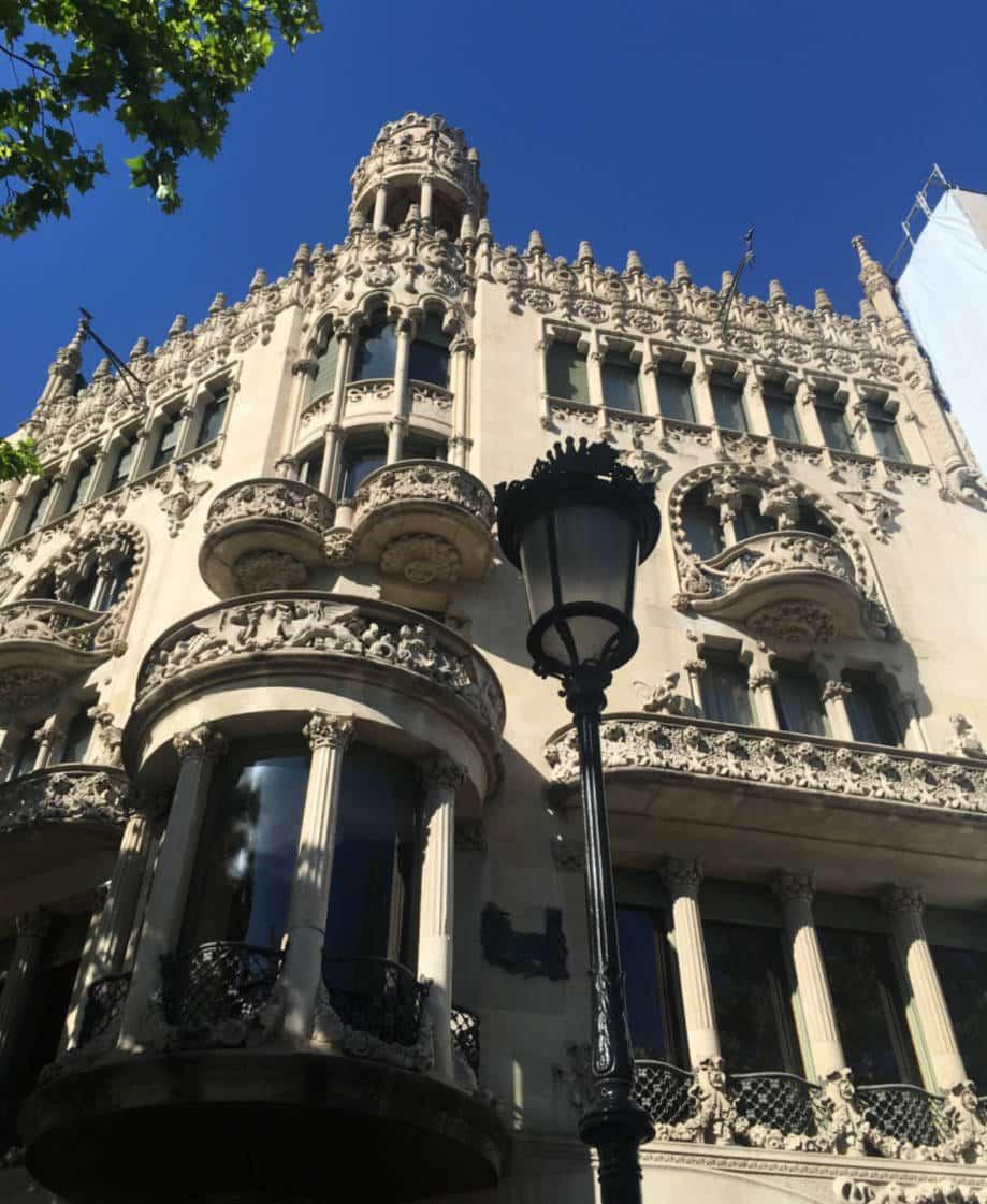 casas modernistas barcelona lleo morera