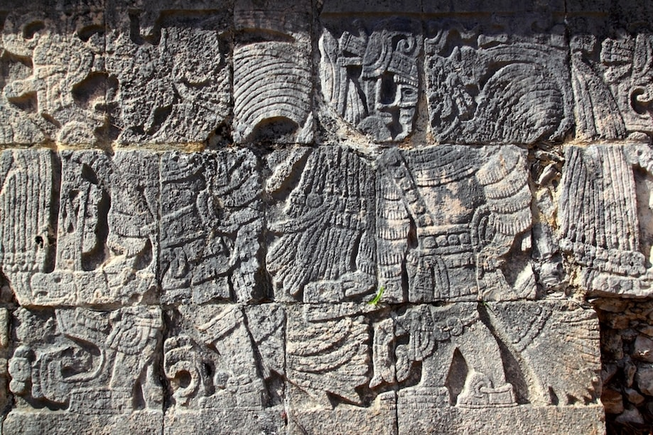 Jogo maia em Chichen Itza