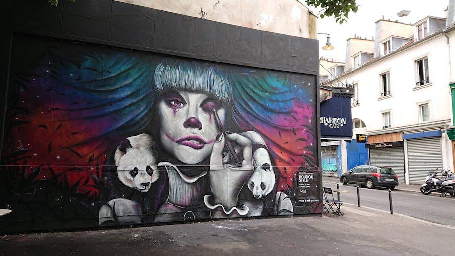 Le M.U.R. em Belleville, Paris