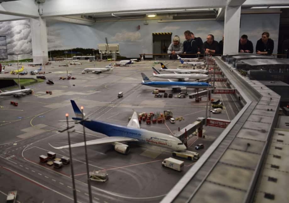 miniature wunderland hamburgo aeroporto