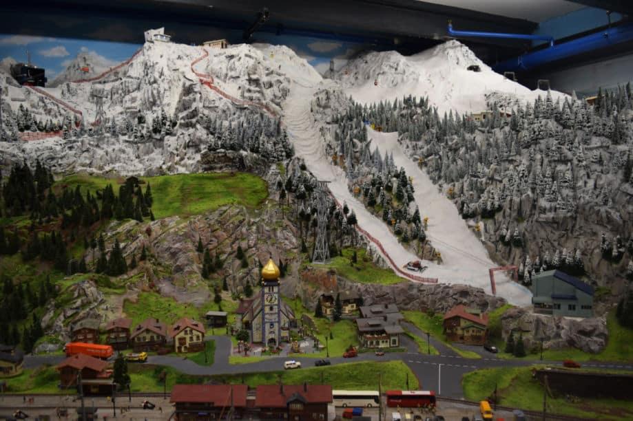 miniature wunderland hamburgo esqui