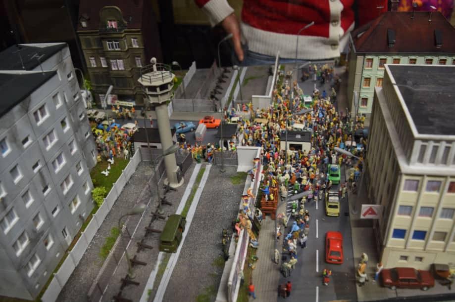 miniature wunderland hamburgo muro de berlim