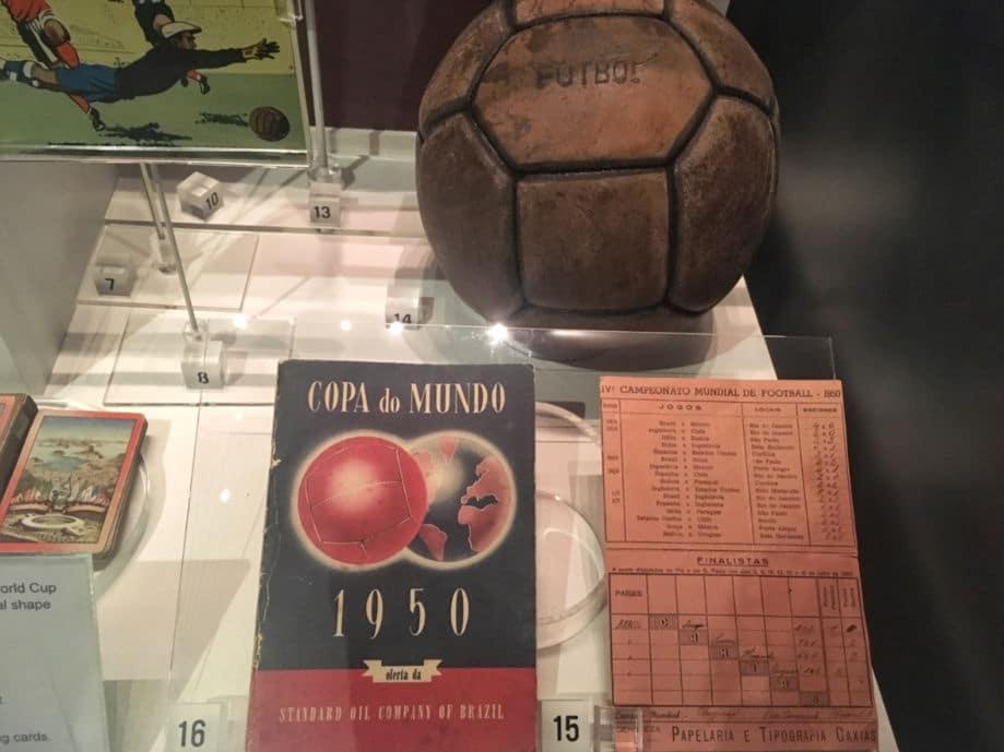 museu do futebol manchester copa de 1950