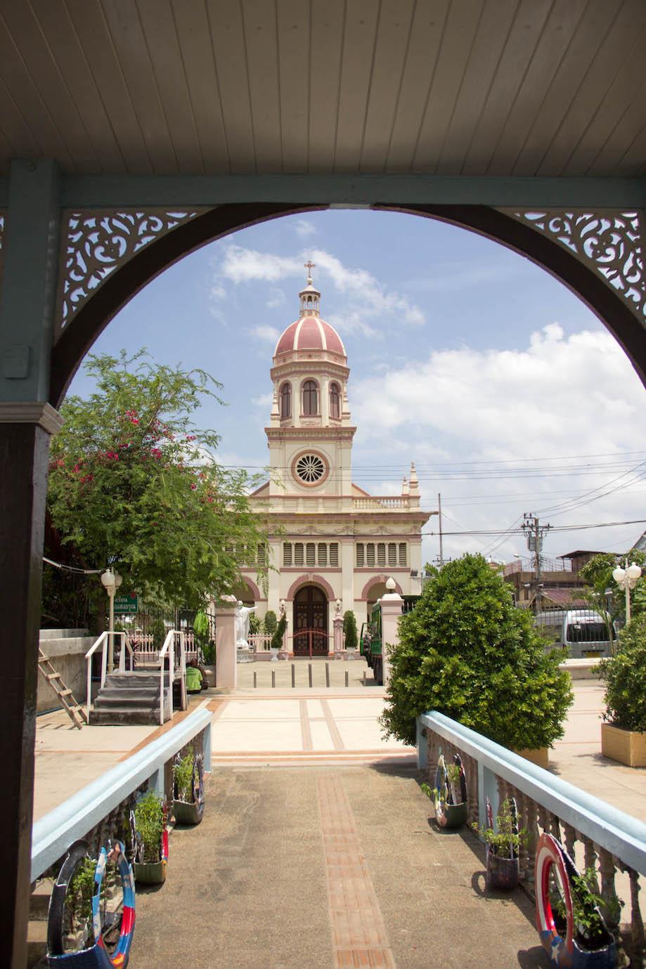 Igreja Católica em Bangkok