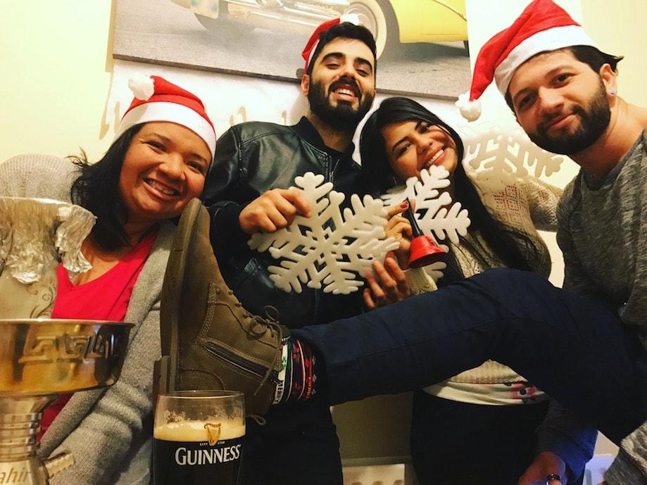 Intercambio na Irlanda: natal entre estrangeiros