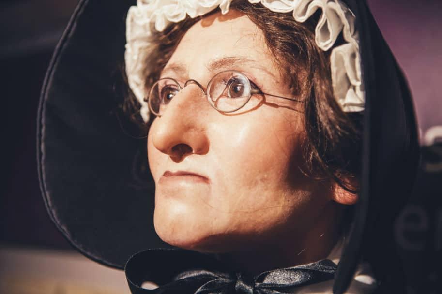 madame tussaud historia mulher