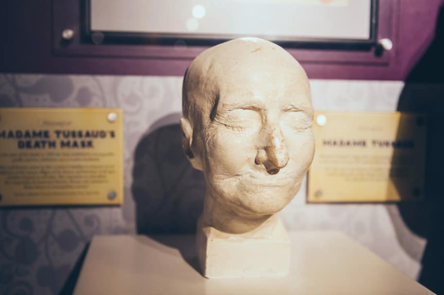 marie tussaud mascara morte
