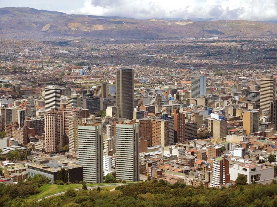 onde ficar em Bogotá, Colômbia
