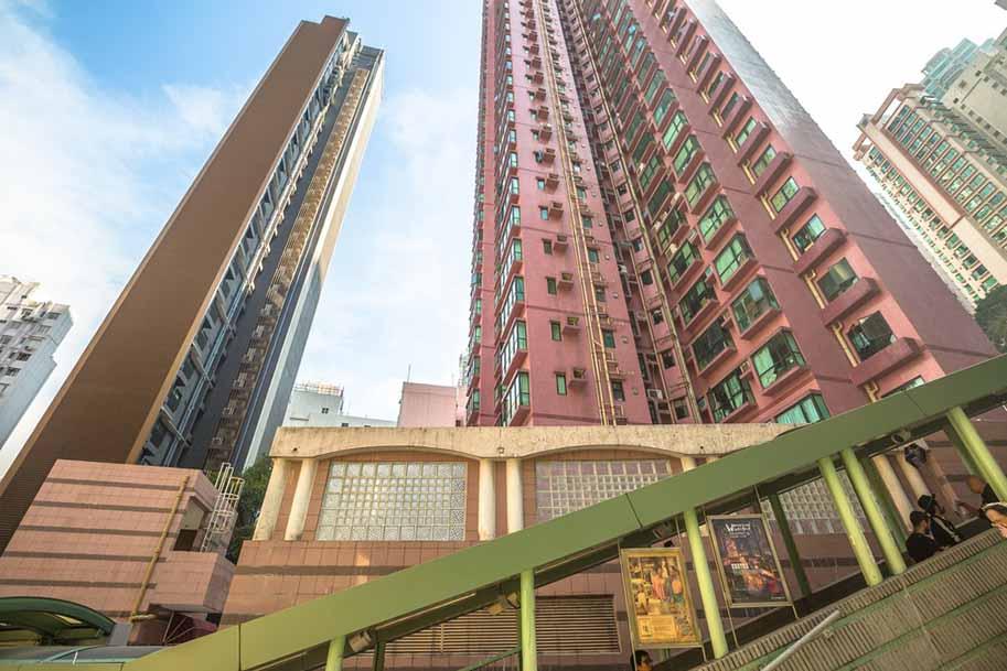 bairros de hong kong