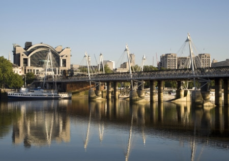 Charing cross bridge shutterstock_32832889