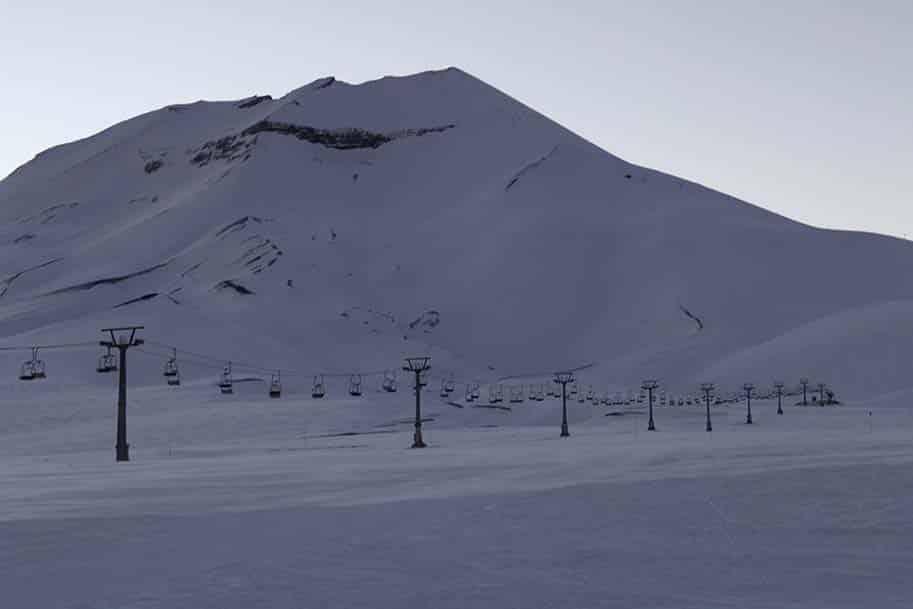 Esquiar em Corralco, no Chile