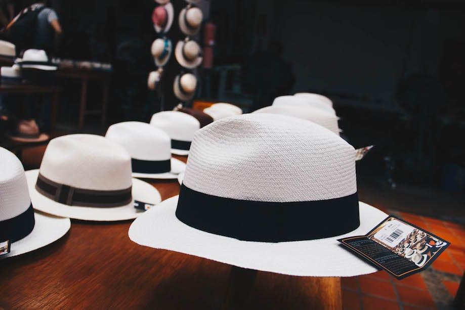 Chapéu Panamá - Cuenca Equador