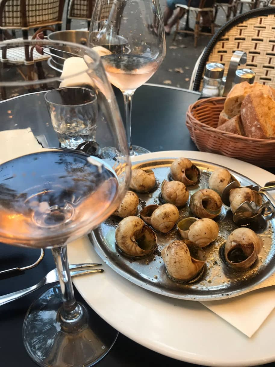 escargot em paris