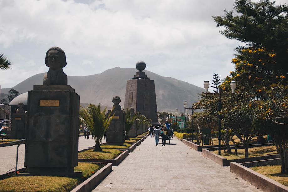 Monumento da Metade do Mundo, em Quito