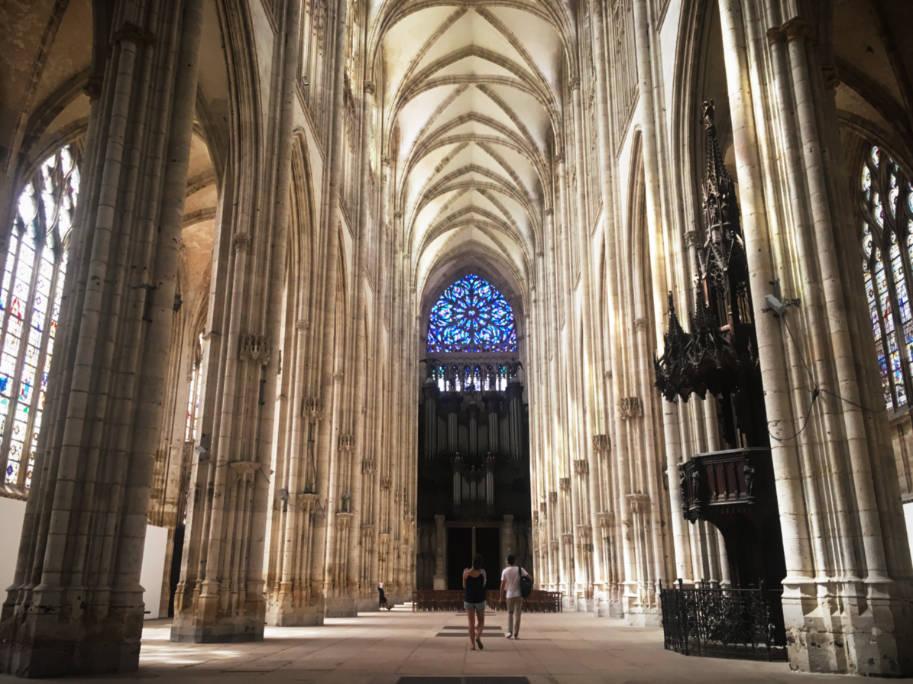 o que fazer em rouen franca abadia saint Rouen