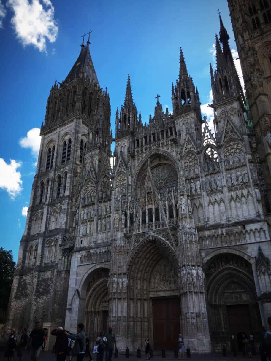 o que fazer em rouen franca catedral notre dame