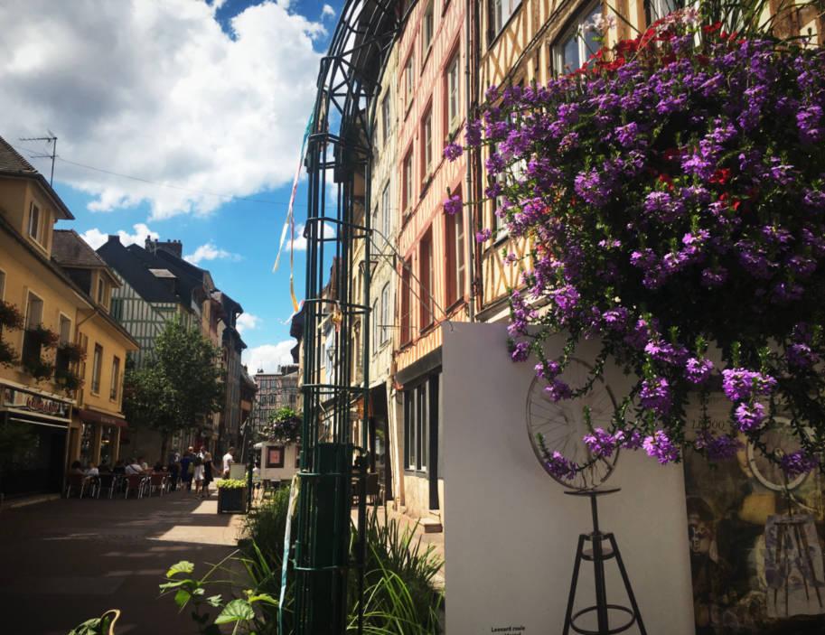 o que fazer em rouen franca rua flores