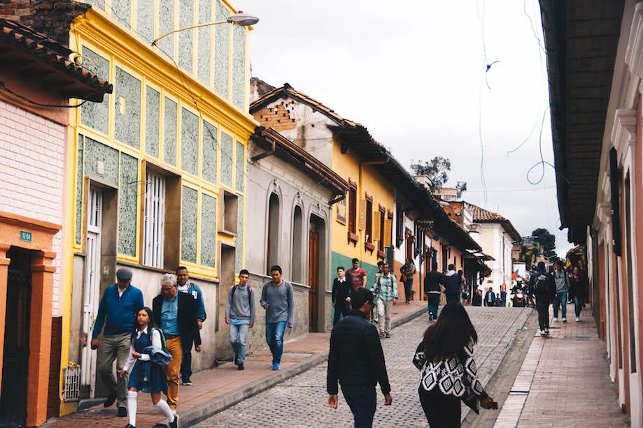 Onde comer em Bogotá - Candelária