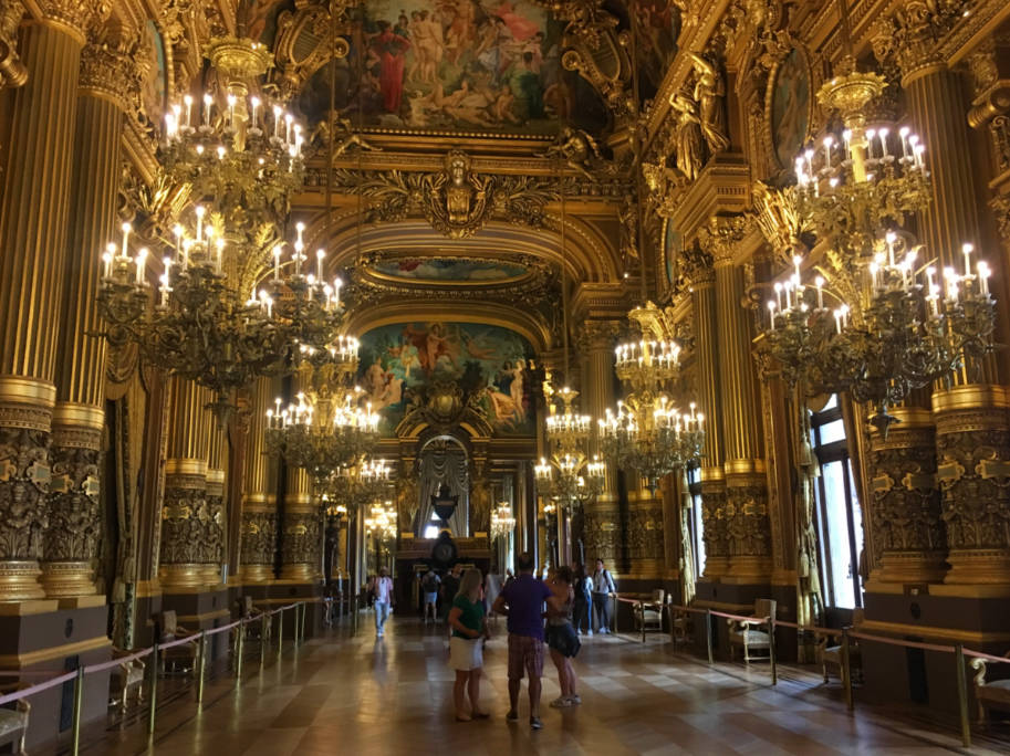 opera garnier paris grand foyer dois