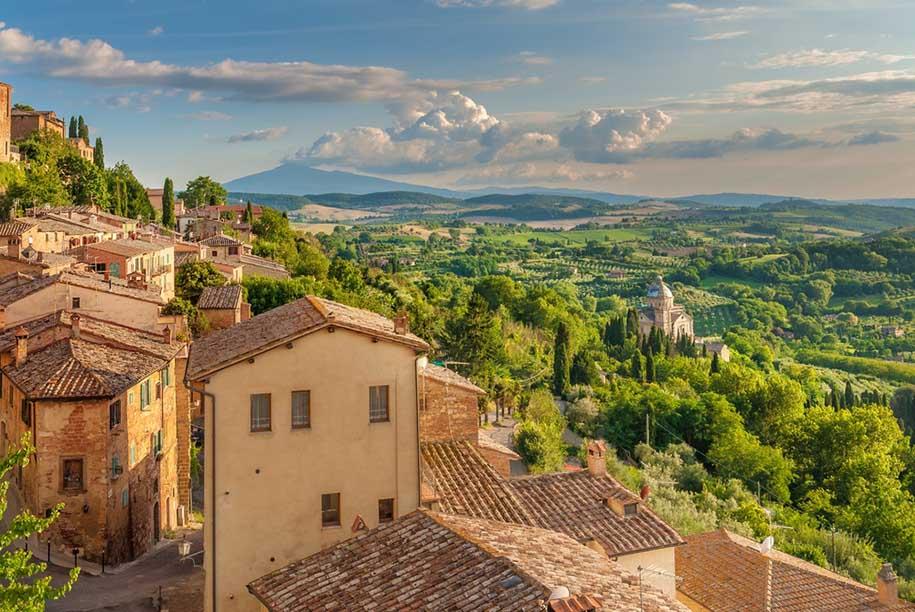 roteiro na Toscana
