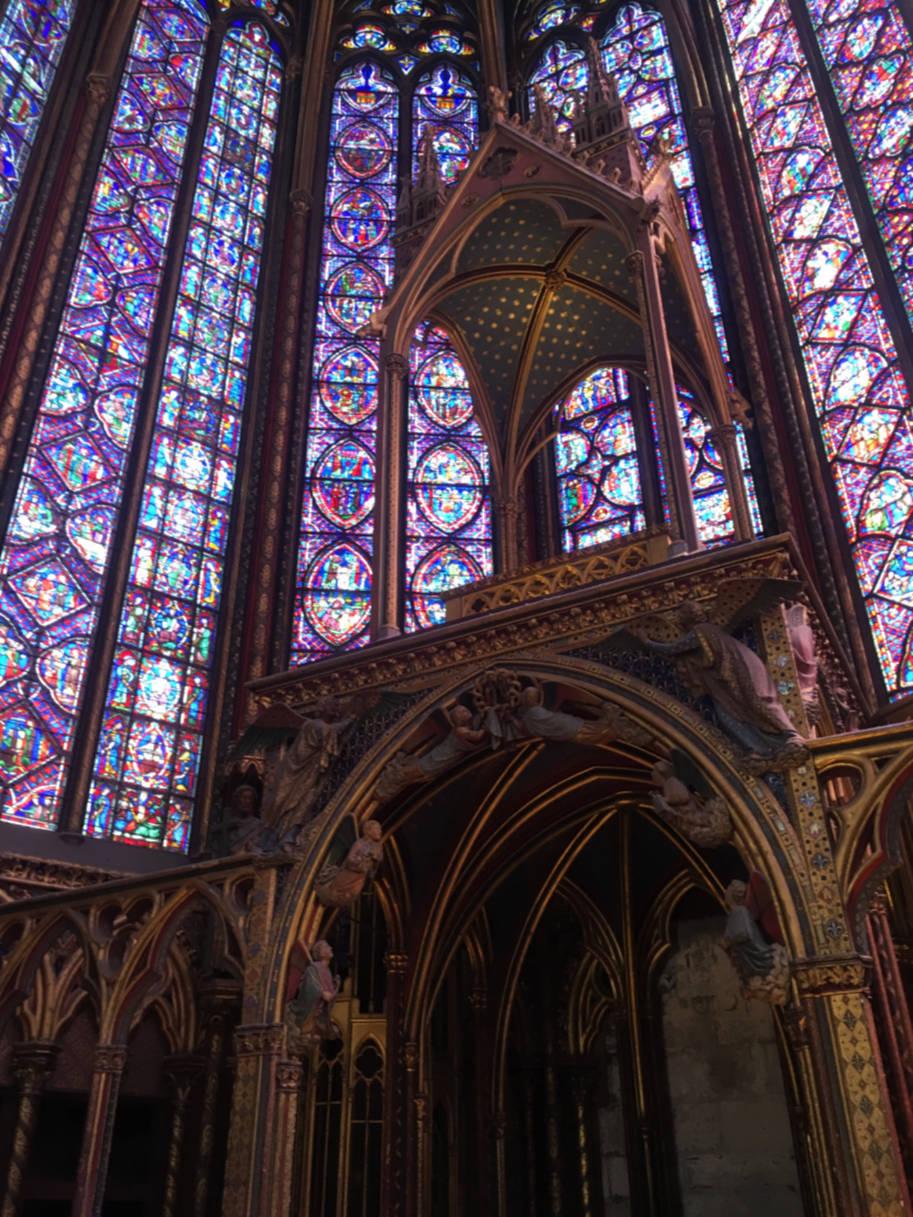 sainte-chapelle paris altar