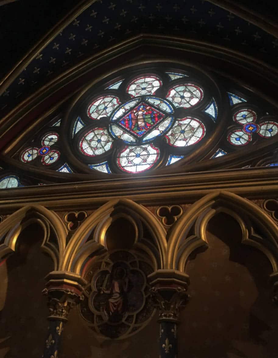 sainte-chapelle paris capela debaixo